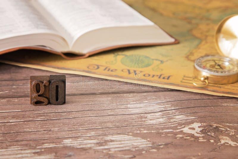 Entre todo el mundo y predique las buenas noticias a toda la creación imágenes de archivo libres de regalías
