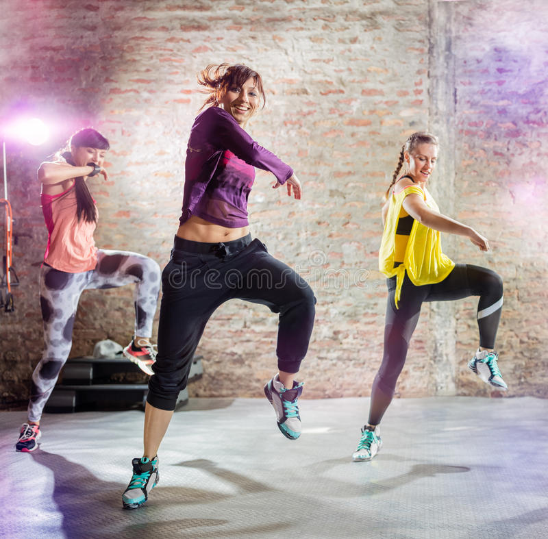 Entrenamiento de la danza imagenes de archivo
