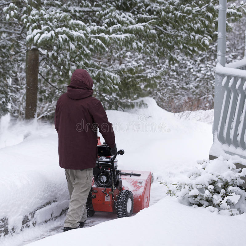 Entrenamiento del invierno imagenes de archivo