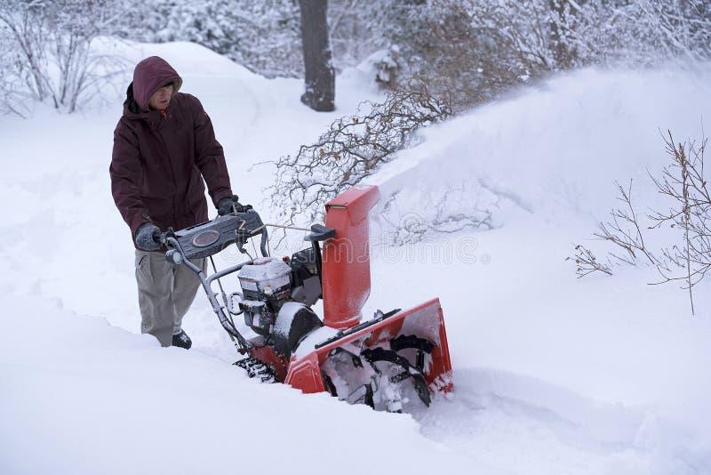 Entrenamiento del invierno fotografía de archivo libre de regalías