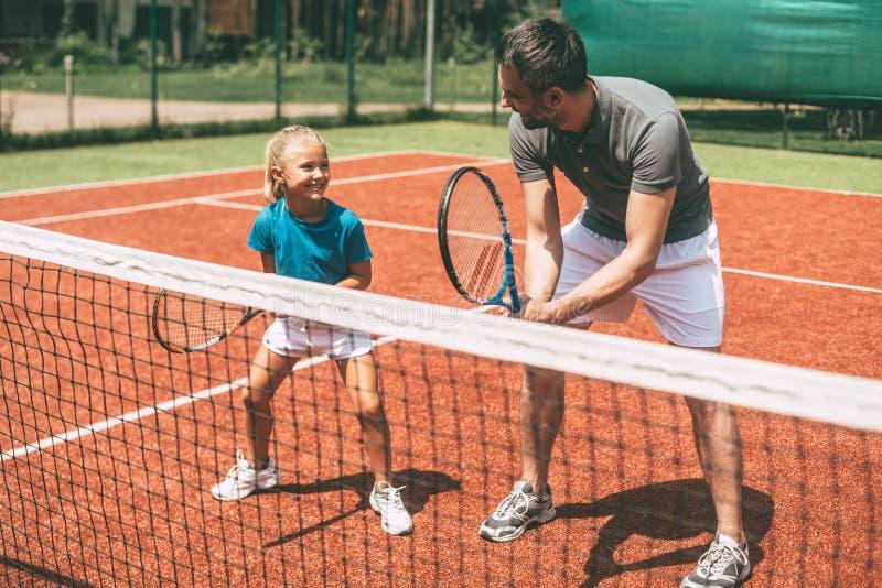 Entrenamiento del tenis fotos de archivo libres de regalías