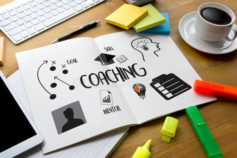 ENTRENAR el planeamiento de entrenamiento que aprende el Ins de la guía del negocio que entrena libre illustration
