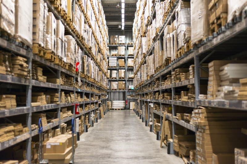 Entrepôt photographie stock libre de droits