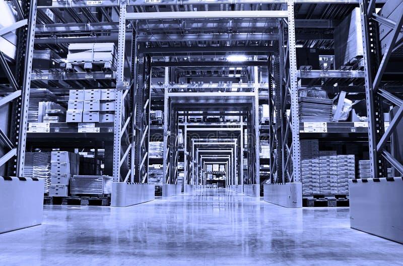 Entrepôt photographie stock