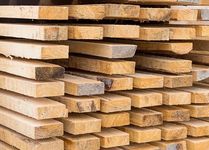 Entrepôt en bois naturel de beige de panneaux de fond nouvel photo libre de droits