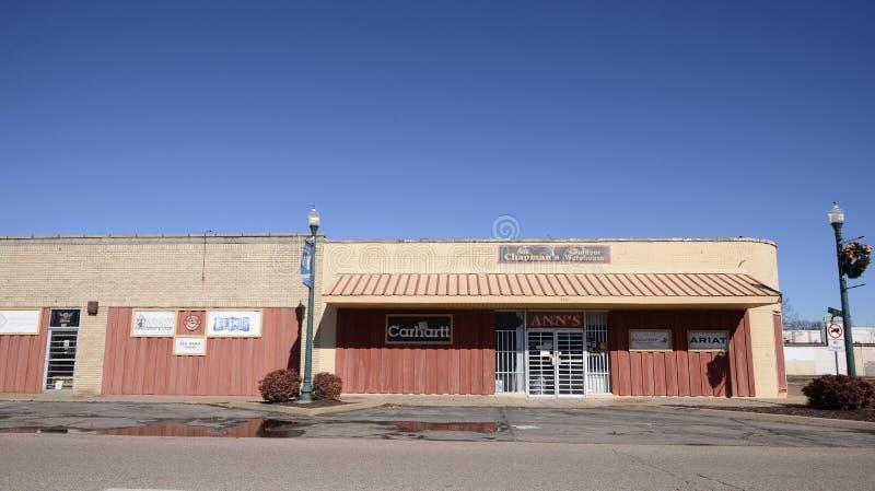 Entrepôt extérieur du ` s d'Ann Chapman, Memphis occidental, Arkansas images stock