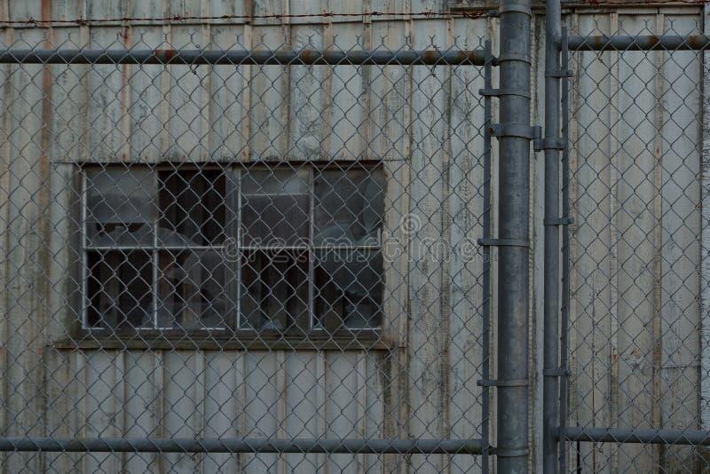Entrepôt abandonné images stock