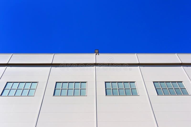Entrepôt d'usine industrielle images stock