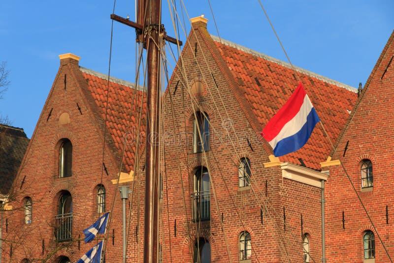Entrepôt néerlandais photo libre de droits