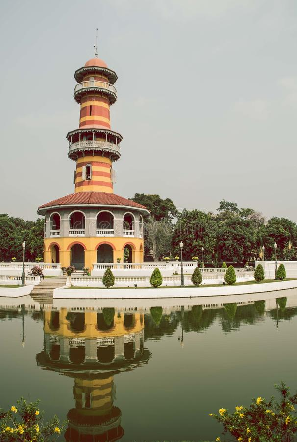 Entrepôts d'Art Witoonchart, palais grand, Thaïlande photo libre de droits