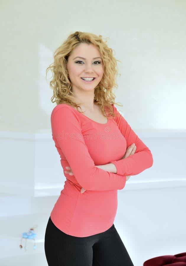 Entrepreneur d'un salon de beauté images libres de droits