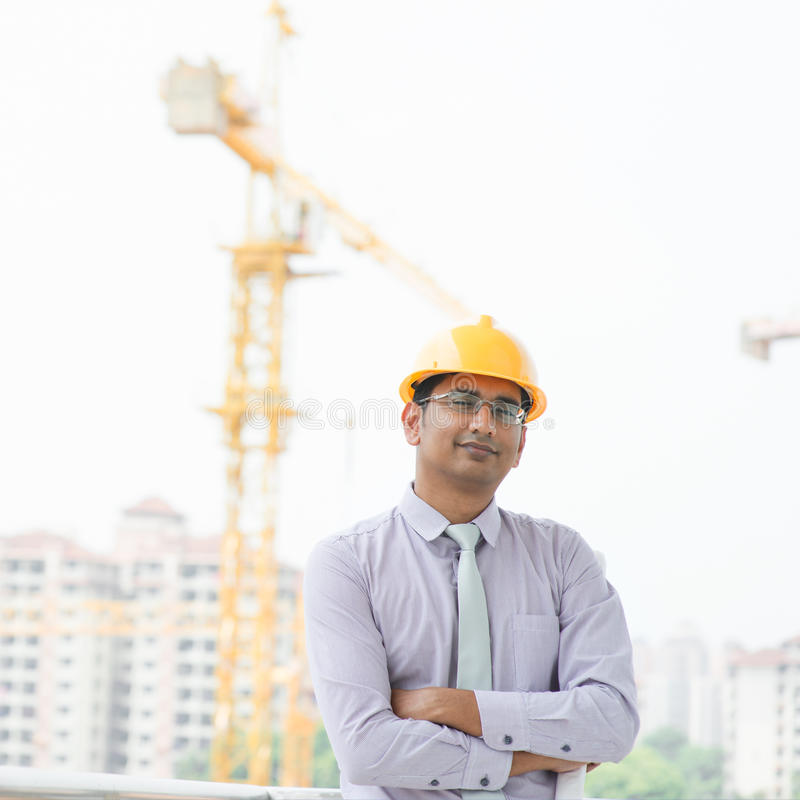 Entrepreneur masculin indien asiatique photo stock