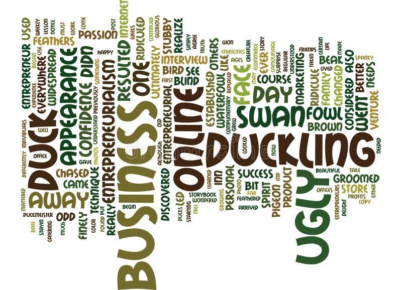 Entrepreneurialism kaczka Jakaś Różnym koloru teksta tła słowa chmury pojęciem ilustracja wektor