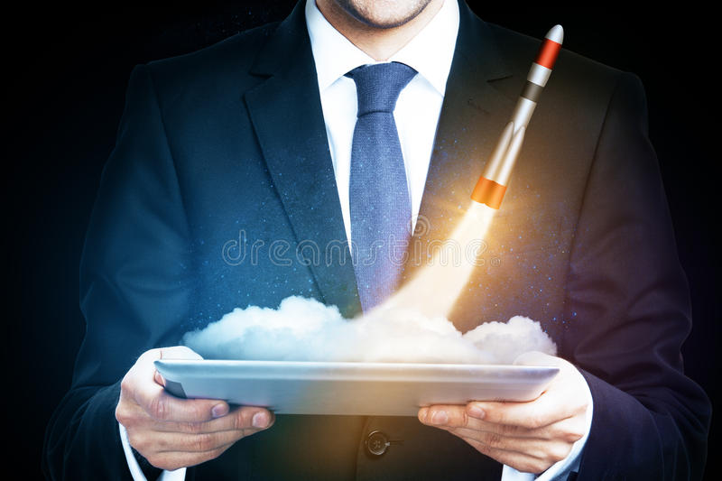 Entrepreneurship concept royalty free stock image