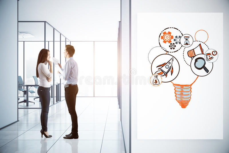Entrepreneurship concept stock photo