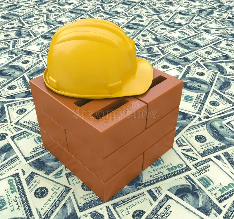 Entreprise de construction avec un casque jaune de masque for Entreprise de construction