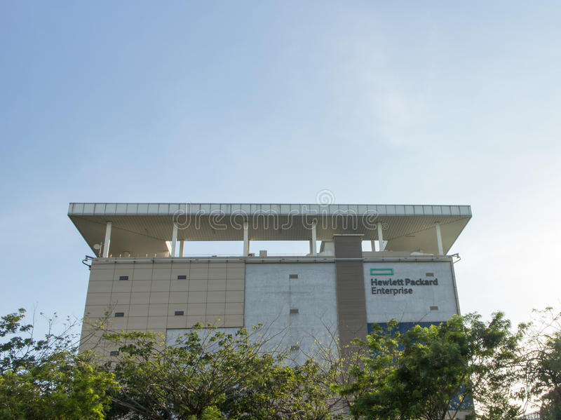Entreprise de Hewlett Packard chez Cyberjaya Malaisie images stock
