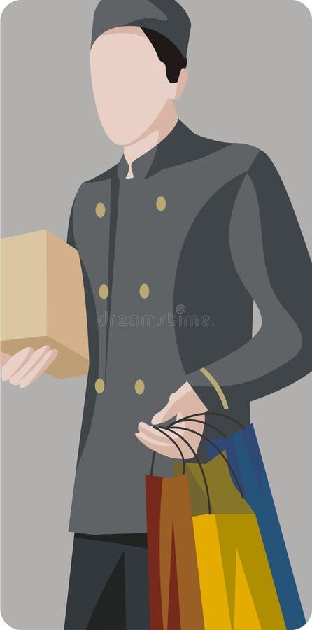 Entretenez la série d'illustration illustration libre de droits