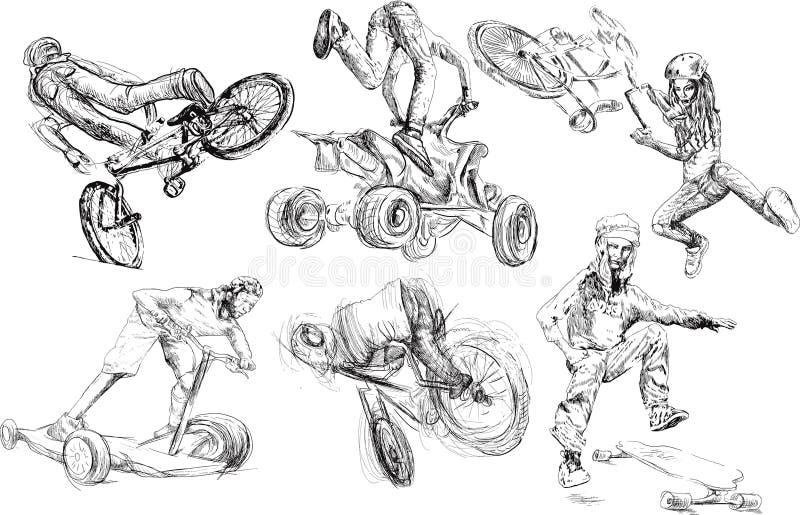 Entretenimento do verão ilustração do vetor
