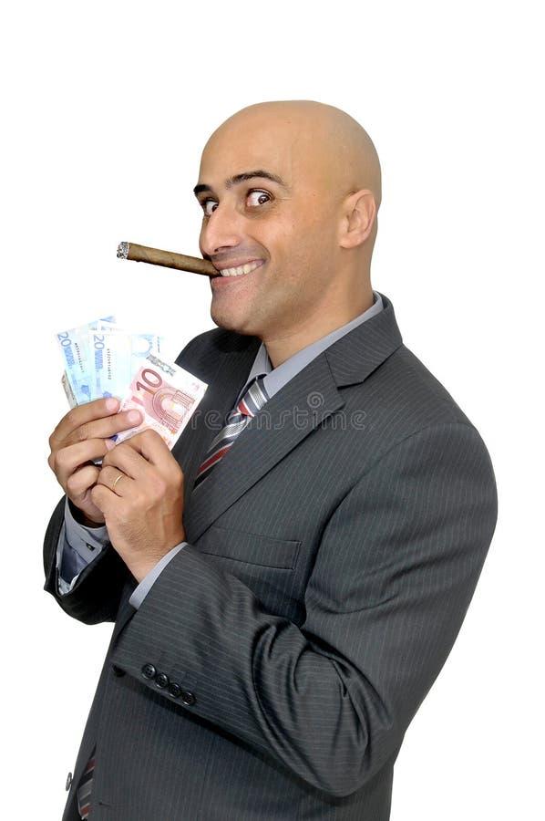 Entretiens d'argent photo libre de droits