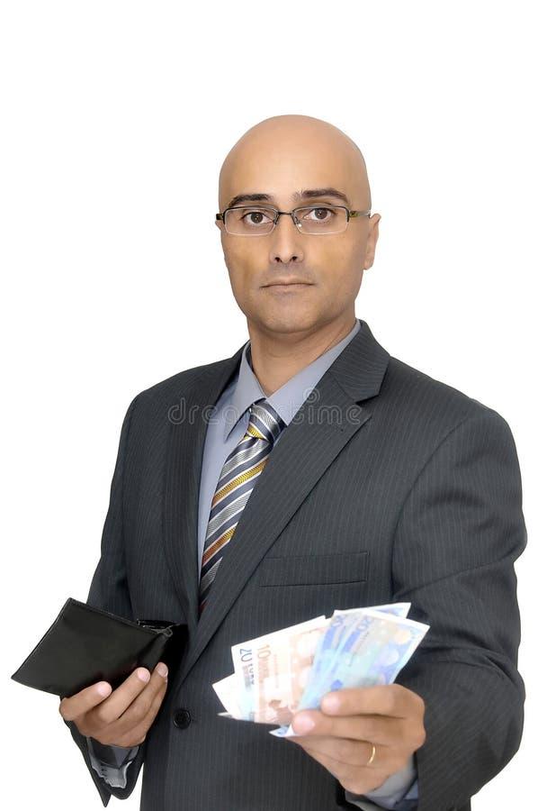 Entretiens d'argent image stock