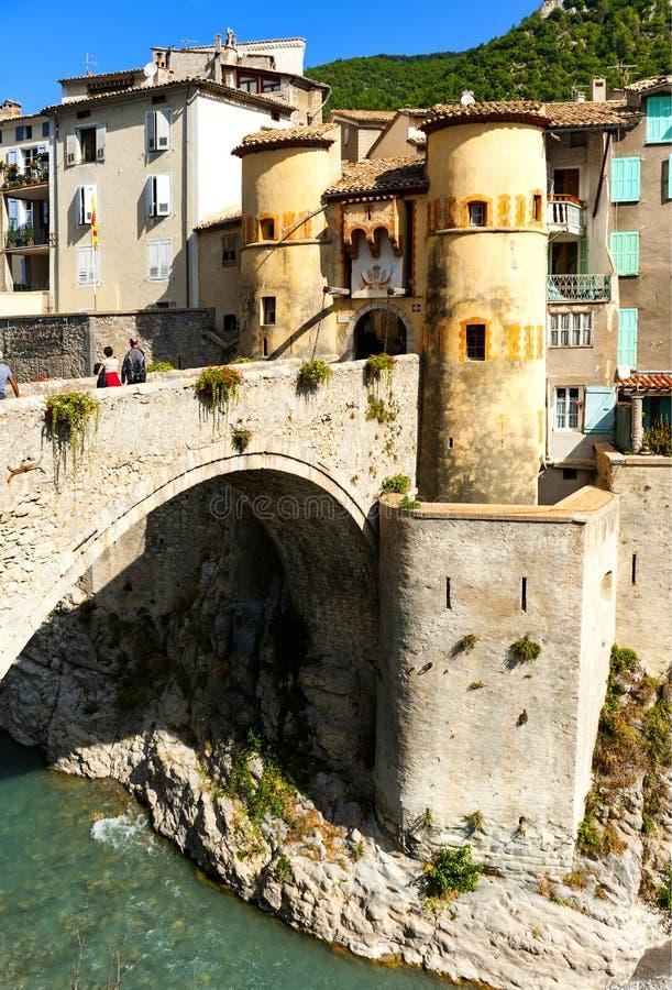 Entrevaux, França imagem de stock royalty free