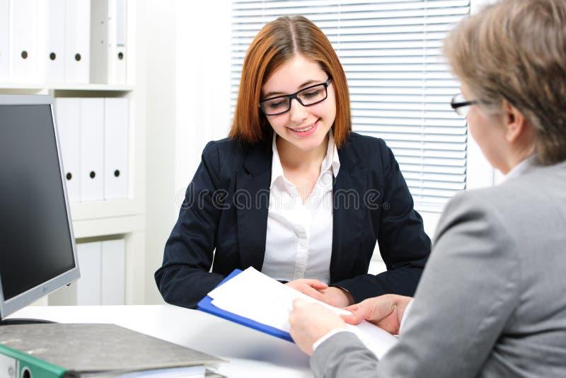 Entrevue d'emploi photos stock