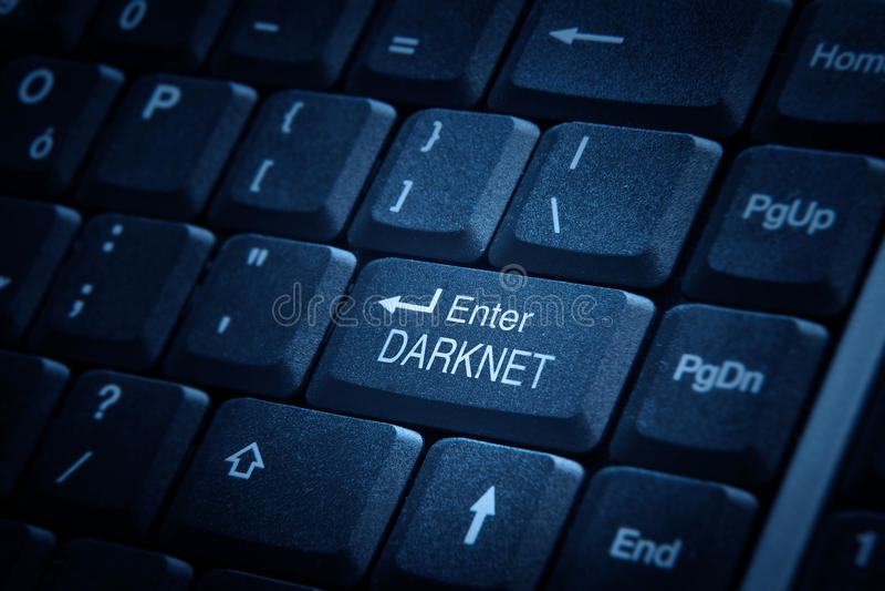 Entrez dans Darknet images stock
