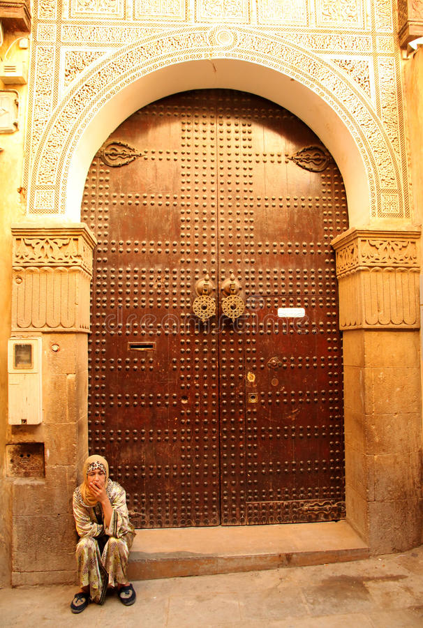 Entry To The Mosque Editorial Image