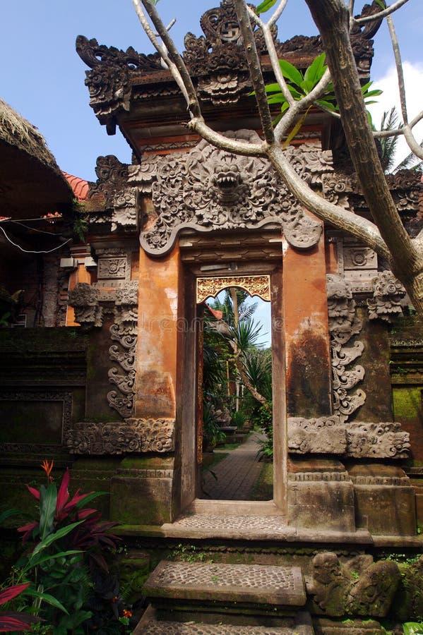 entrywaytempel royaltyfri fotografi