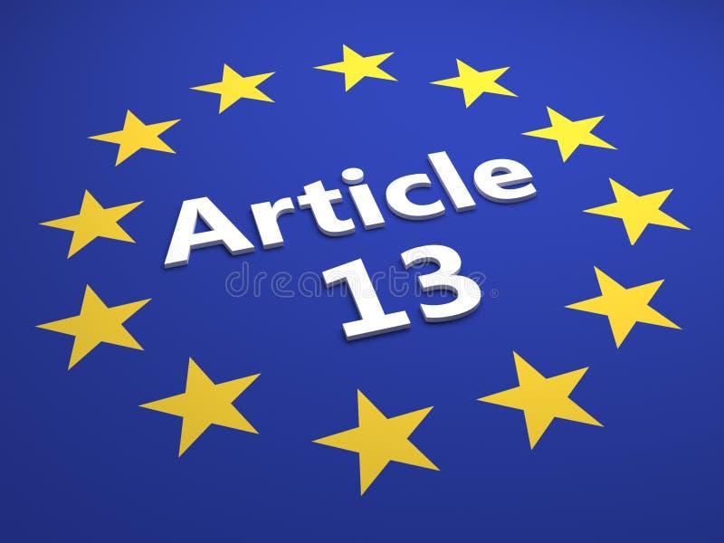 Entscheidung der Europäischen Gemeinschaft Gesetzes- Illustration lizenzfreie abbildung