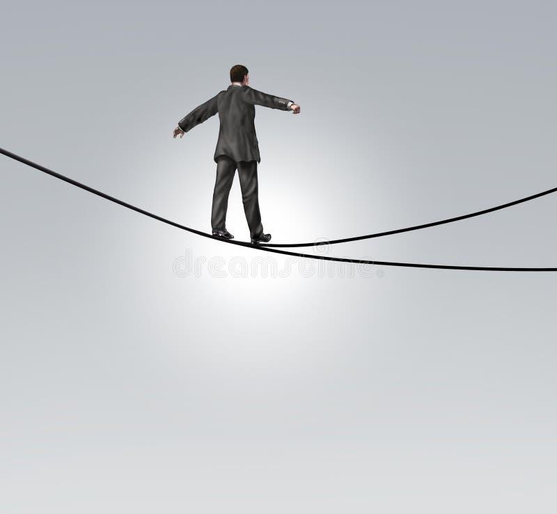 Entscheidungs-Risiko lizenzfreie abbildung