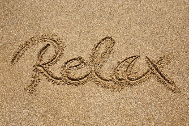 Entspannen Sie sich lizenzfreie stockfotos