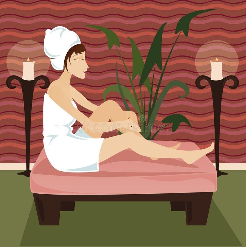 Entspannen Sie sich Badekurort