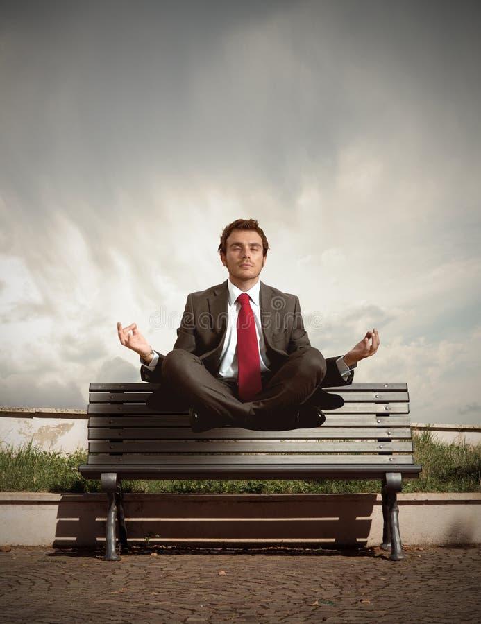 Entspannen Sie sich Erhebung lizenzfreies stockfoto