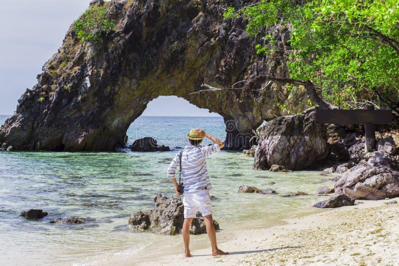 Entspannen Sie sich im Urlaub lizenzfreies stockbild