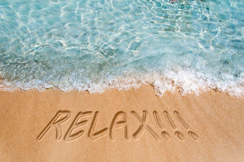 Entspannen Sie sich Konzept stockfotos
