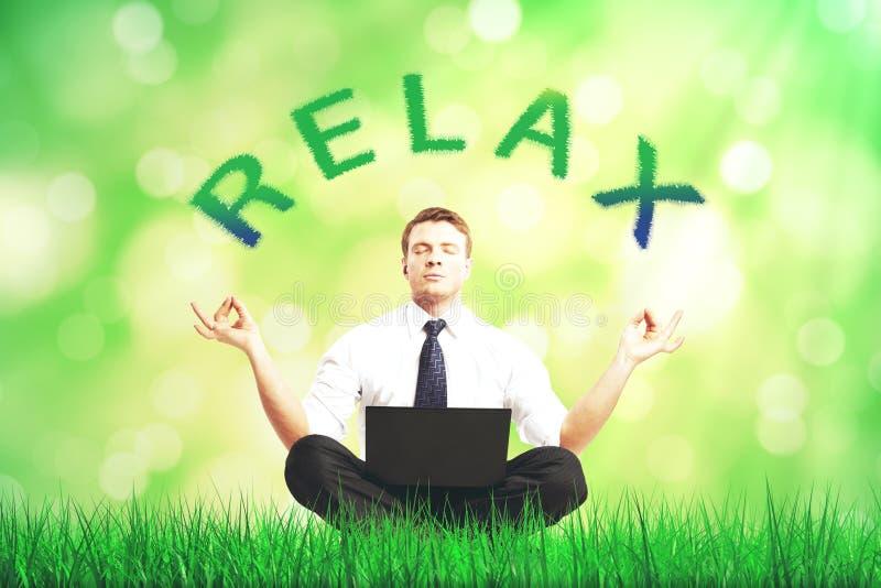 Entspannen Sie sich Konzept stockfoto