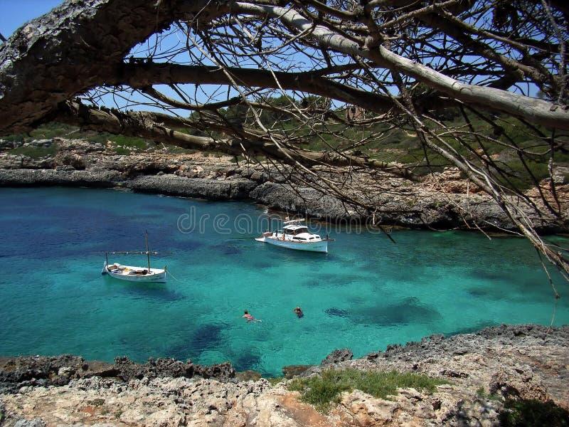 Entspannen Sie sich in Majorca lizenzfreie stockbilder