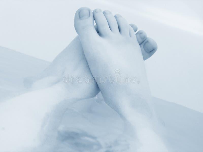 Entspannende Füße lizenzfreie stockfotografie