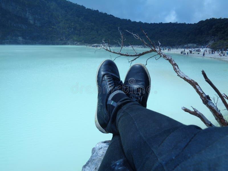 Entspannende Ferien stockfoto