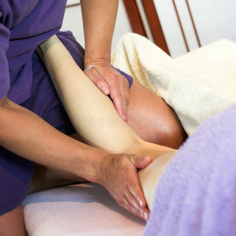 Entspannende Massage lizenzfreie stockfotografie