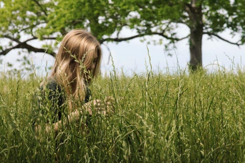 Entspannender Frühlingstag lizenzfreies stockfoto