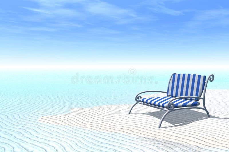 Entspannender Sommer vektor abbildung