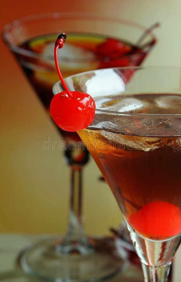 Entspannendes Getränk des Sommers stockbilder