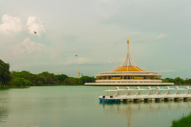 Entspannung in Thailand stockbild