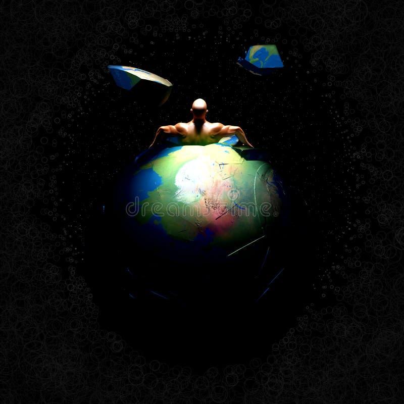 Entweichen-Erde vektor abbildung