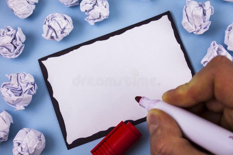 Entwerfen Sie Planschablone der leeren Schablone des Gesch?fts unbedeutende grafische f?r die Werbung lizenzfreie stockfotografie