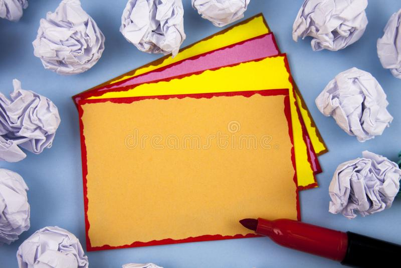 Entwerfen Sie Planschablone der leeren Schablone des Gesch?fts unbedeutende grafische f?r die Werbung stockbilder