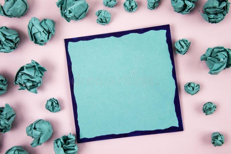 Entwerfen Sie Planschablone der leeren Schablone des Gesch?fts unbedeutende grafische f?r die Werbung lizenzfreies stockfoto